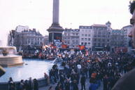 Protest in Trafalgar Square