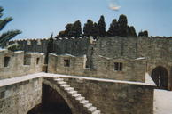 Rhodes Castle Wall
